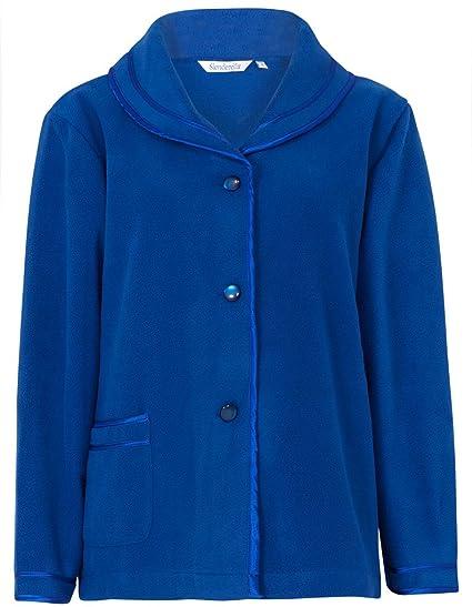 6813b45e55 Slenderella BJ6320 Women s Blue Dressing Gown Bedjacket Robe ...