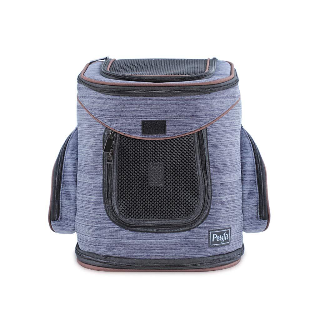 4M302441cm Pet Cage, Breathable Shoulder Dog Pet Dog Bag Backpack Backpack Backpack Cat Bag, Travel Pet Bag Bicycle, Hiking, Travel, Shopping (S M) (color   3S2925  34cm)