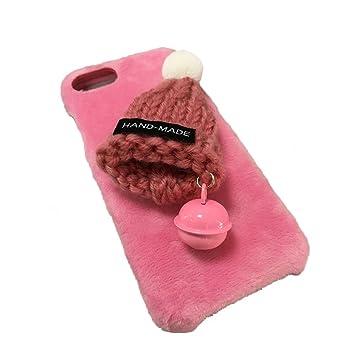 Funda iPhone 6/6s,Aliyao Sombrero Peludo de Navidad Estuche ...