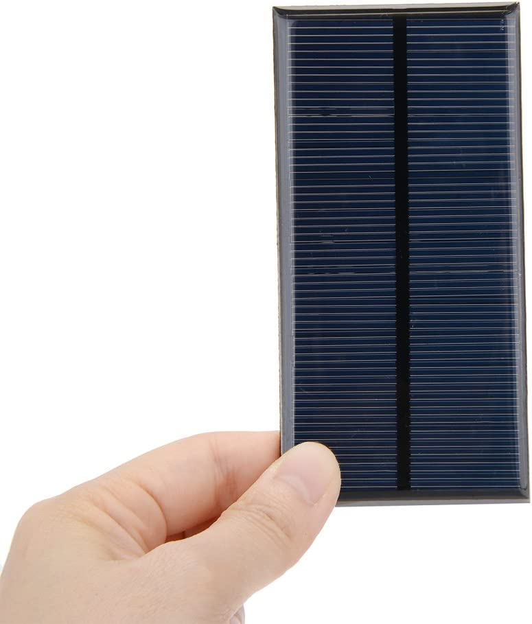 uxcell 5Pcs 1.5V Poly Mini Solar Cell Panel Module DIY for Light Toys Charger 52mm x 52mm