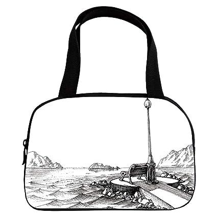 Amazon com : Personalized Customization Small Handbag Pink