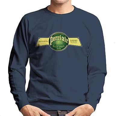 Spaceballs Perri Air Logo Mens Sweatshirt Amazonde Bekleidung