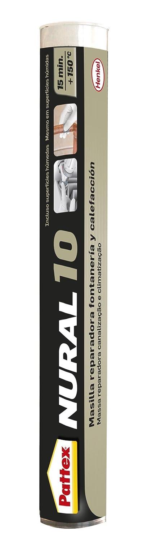 Pattex Nural 10, masilla reparadora para fontenería y calefacción, 110 gr: Amazon.es: Bricolaje y herramientas