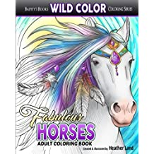 Fabulous Horses: Adult Coloring Book