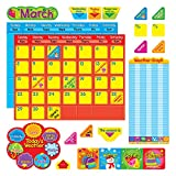 Trend Enterprises Classic Calendar Duo Bulletin Board Set (102 Piece)