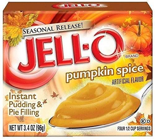 Vanilla Instant Pudding Mix - Jell-O Instant Pudding Sampler (Pack of 12 Different Flavors 3.3-3.9)
