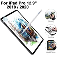 TERSELY Paper-Like Screen Protector for iPad Pro 12.9 inch 2018/2020, Writing, Write, Draw and Sketch with Apple Pencil Paper Like Anti Reflection Film for Apple iPad Pro 12.9 inch 3rd & 4th Gen