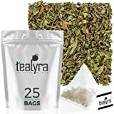 Tealyra - Pure Spearmint Leaves - 25 Bags - Best African Mint Tea -...