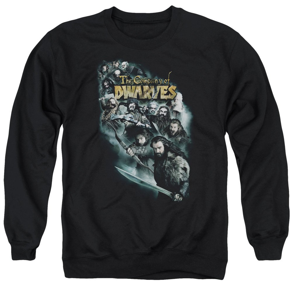 MMM Merchandising The Hobbit Mens Company of Dwarves Sweater
