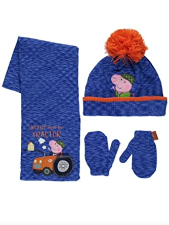 881862ec358 Peppa Pig George Pig - Ensemble bonnet
