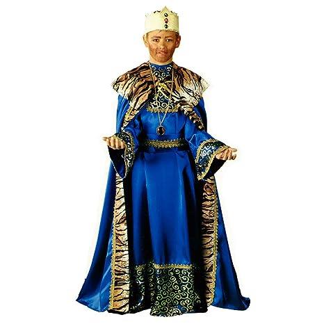 Disfraz Rey Mago Azul INF PROFISA Talla 6 AÑOS: Amazon.es ...
