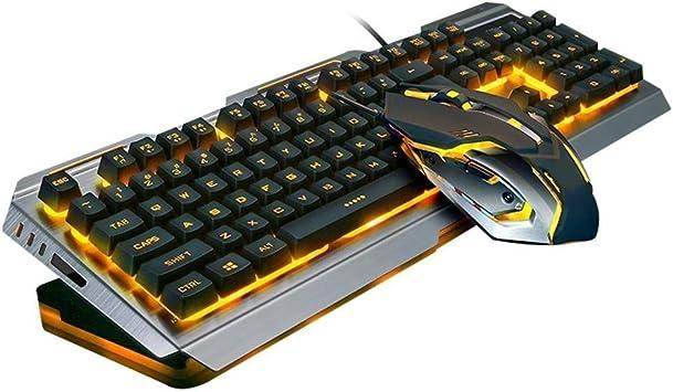 YuandCheng Estilo Minimalista practico Gaming Keyboard Mouse ...