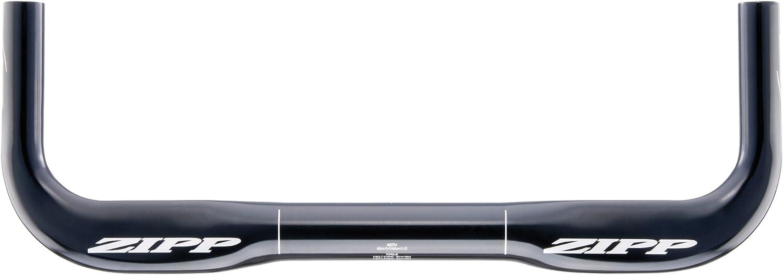 Zipp Vuka Alumina Base Bar 0 Drop 40cm-Black-TT//Triathlon-New