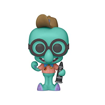 Funko Pop! Animation: Spongebob Movie - Squidward in Camping Gear, Multicolor: Toys & Games