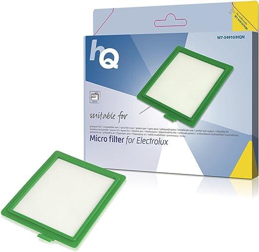 HQ W7-54910- N siuministro para aspiradora - Accesorio para aspiradora (Electrolux EF17, Electrolux:, Verde, Color blanco): Amazon.es: Hogar