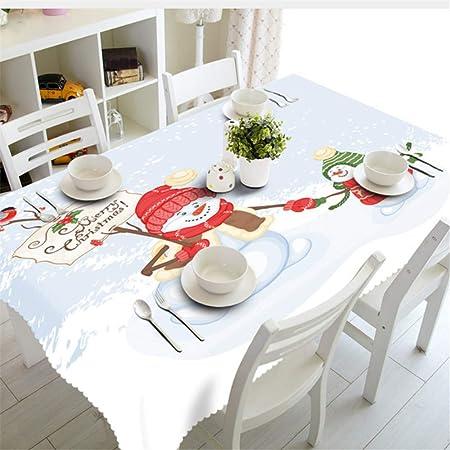 Shuangklei Año Navidad Mantel Cocina Comedor Decoraciones De Mesa ...