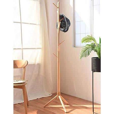 Amazon.com: LiChenYao - Percha de madera maciza para el ...
