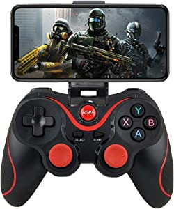 Android Gamepad Controller, Megadream Wireless Key Mapping Gamepad Joystick Perfect for PUBG & Fotnite & More, Compatible for Android Samsung Galaxy HTC LG Other Phone