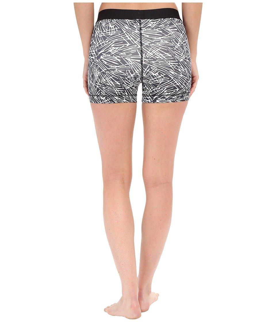 Donna Nike Grigio Nero Pantaloni Corti Pro Cool 3