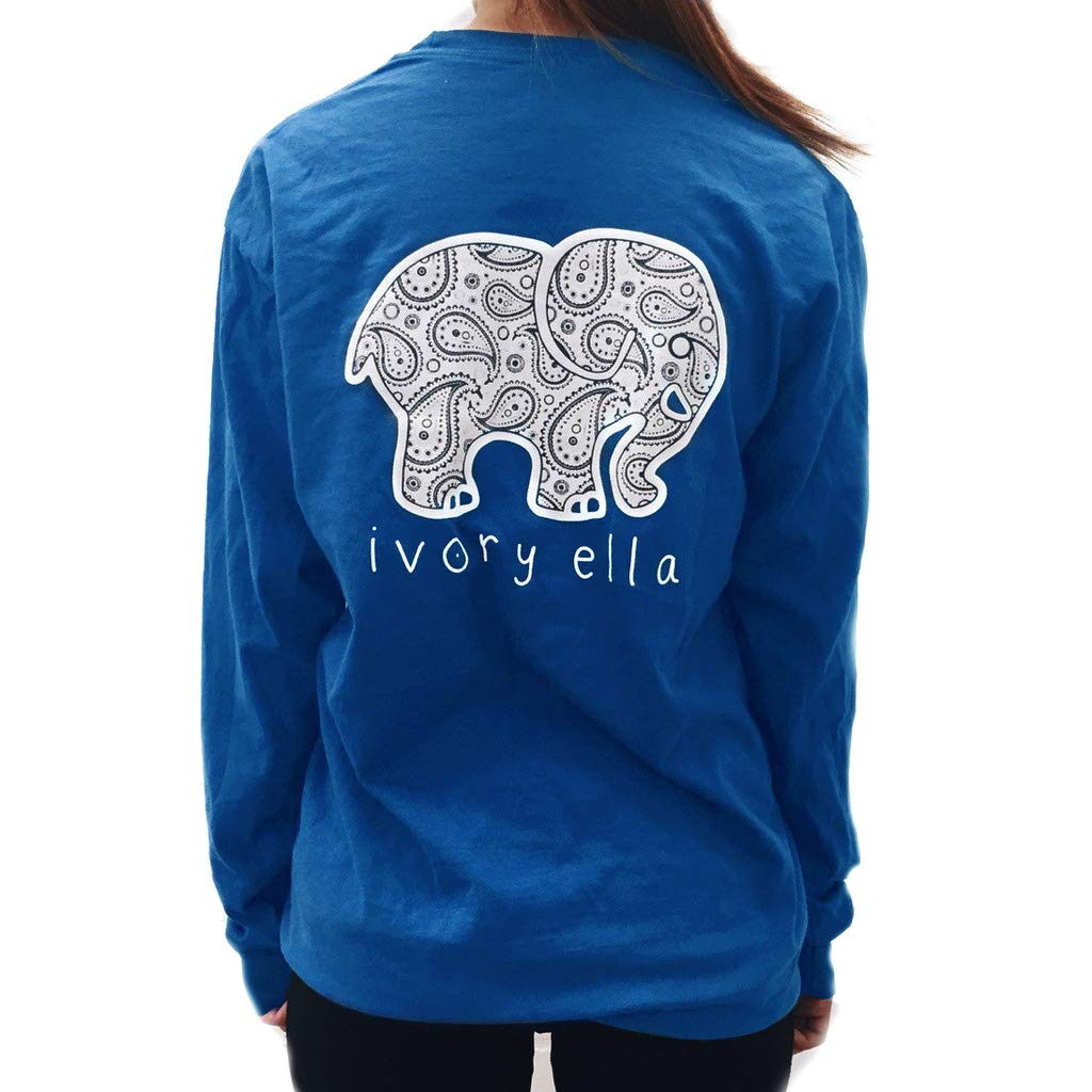 Elephant Graphic Print T Shirt Women Casual O Neck Casual Tees