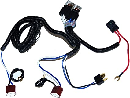 Dual High Low Beam Headlight Relay Wiring Harness H4/9003 With High  Mustang Solenoid Wiring Diagram on mustang solenoid valve, mustang alternator wiring diagram, mustang wiring harness diagram, mustang engine wiring diagram,