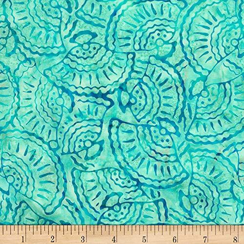 - Timeless Treasures Tonga Batik Aruba Seashell Scuba scuba, Fabric by the Yard