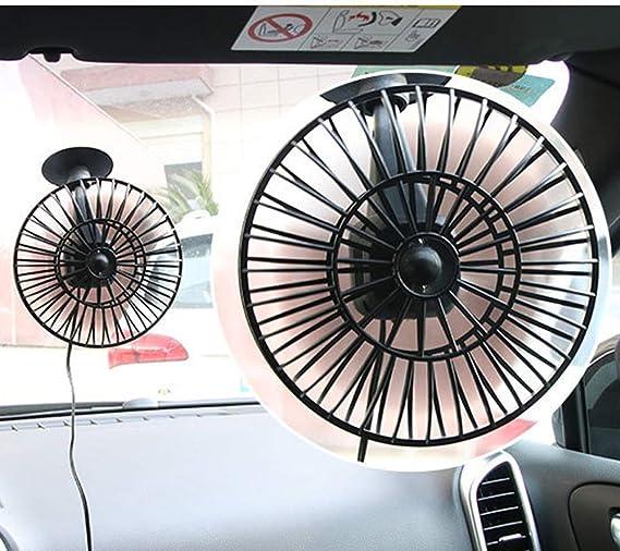 Guangmaoxin 10,2/cm auto Mini con ventosa ventola 12/V auto ventilatore elettrico