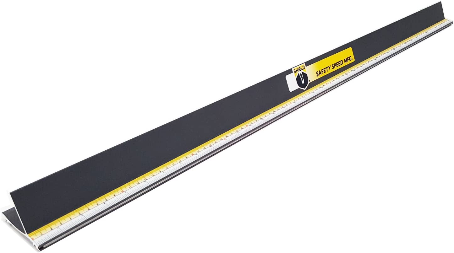 Shield Safety Straight Edge Ruler 60