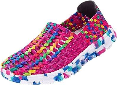 Zapatillas de Deporte para Mujer Otoño 2018 PAOLIAN Zapatos de Running de Plano Dama Casual Talla Grande Cómodo Calzado de Trabajo Deportivo Moda Señora Senderismo: Amazon.es: Zapatos y complementos
