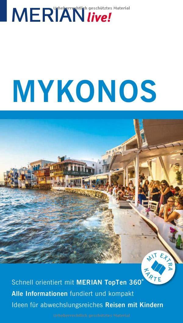MERIAN live! Reiseführer Mykonos: Mit Extra-Karte zum Herausnehmen