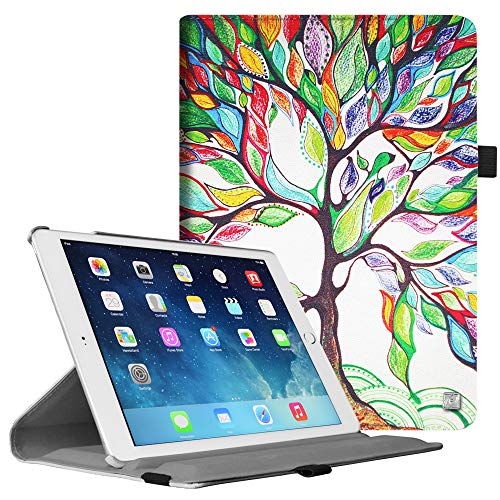 Fintie iPad Air 2 Case - Multiple Angles Stand Smart Protective Cover with Auto Sleep/Wake Feature for iPad Air 2, Love - Ipad Cover 2 Apple Air