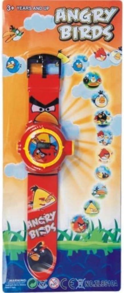 buycrafty Angry Birds Imágenes Proyector Reloj infantil digital ...