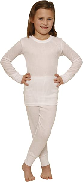Hanes Girls Thermal Underwear Set