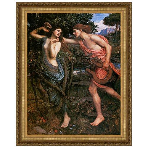 Design Toscano Apollo and Daphne, 1908: Canvas Replica Painting: Grande by Design Toscano