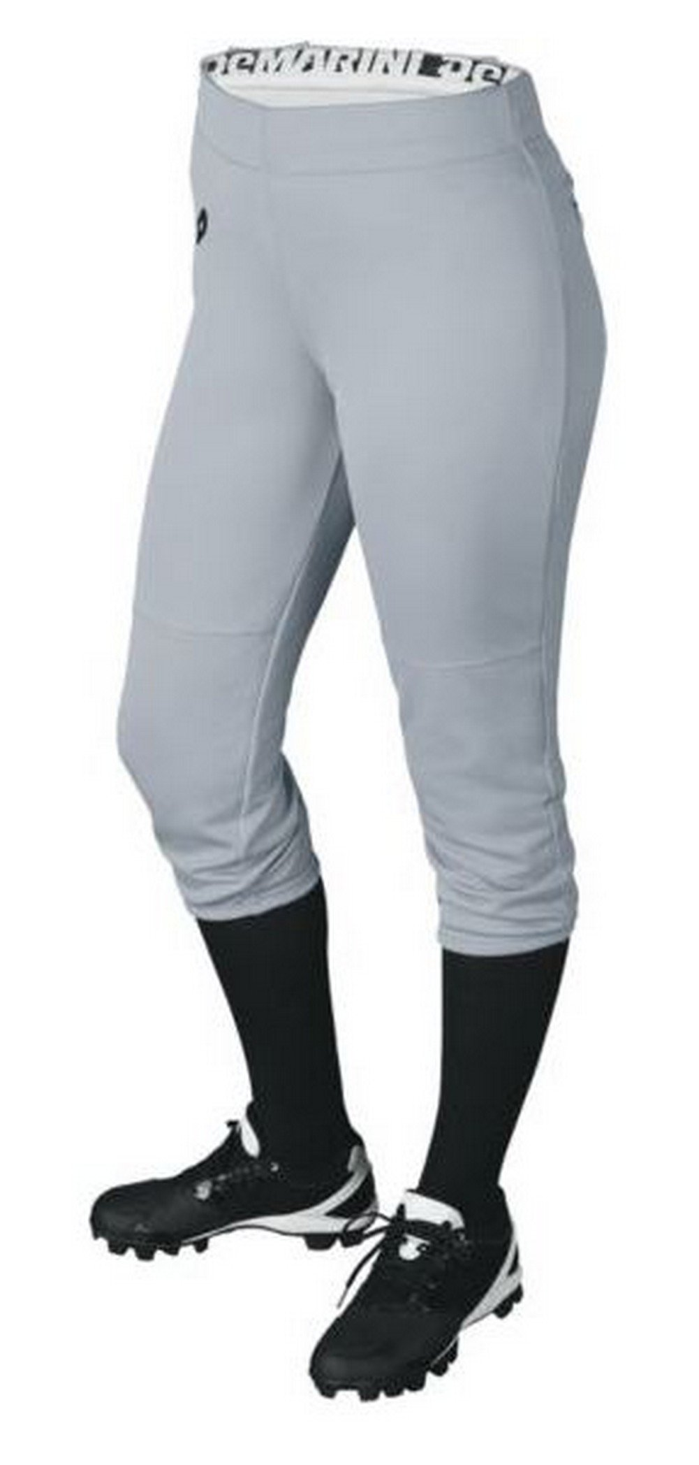 DeMarini Womens Sleek Pull Up Pant, Blue Grey, Small by DeMarini (Image #1)