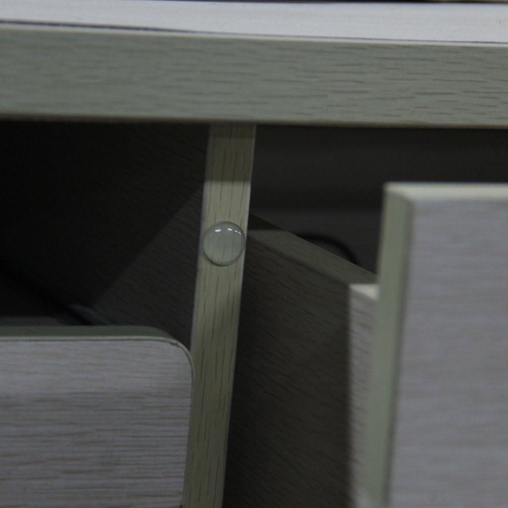 36pcs Selbstklebende Silikonf/ü/ße Halbkreis Klar Sto/ßstange T/ür M/öbel Pad