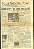 First National Stores Supermarket NEWS 5/23-28 1938 issue