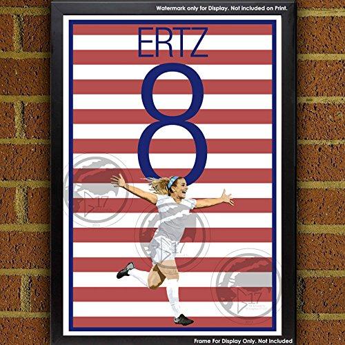 Julie Ertz United States Women's National Team Poster