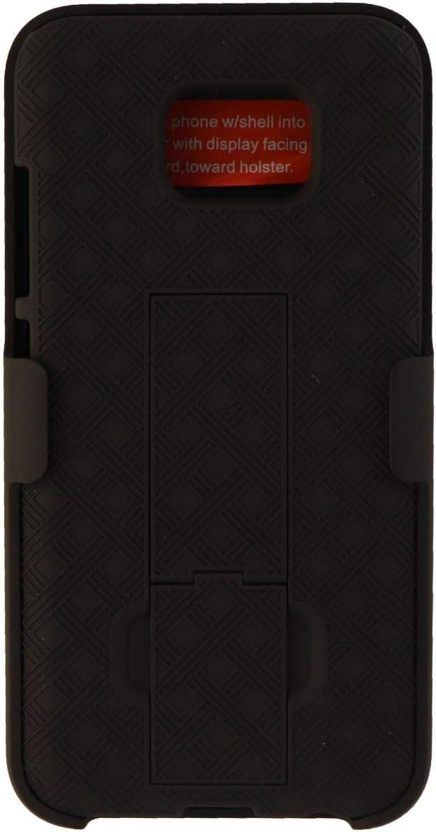 Verizon Kickstand Shell Holster Combo Case for Samsung Galaxy S7 - Black