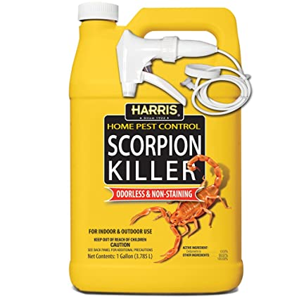 Amazoncom Harris Scorpion Killer Gallon Spray Home Pest