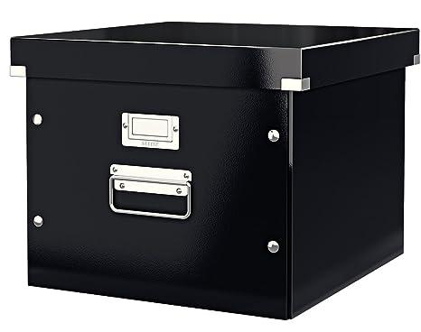 Leitz boîte de rangement dossiers suspendus a noir click