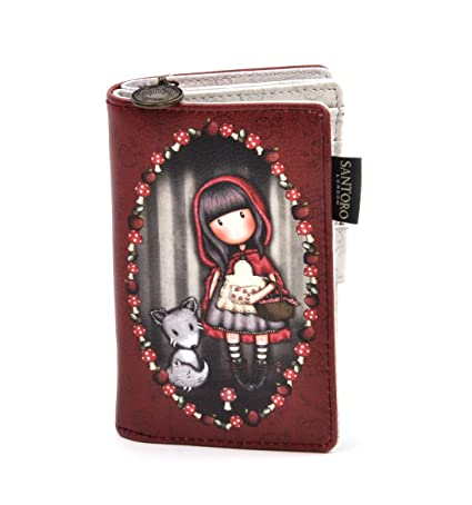 Billetero pequeño Gorjuss - Little Red Riding Hood