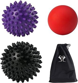 Masaje – Juego de Pelota (1lacrosse 1 duro y 1 pelota con pinchos ...