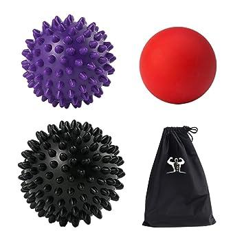 Masaje - Juego de Pelota (1lacrosse 1 duro y 1 pelota con pinchos ...