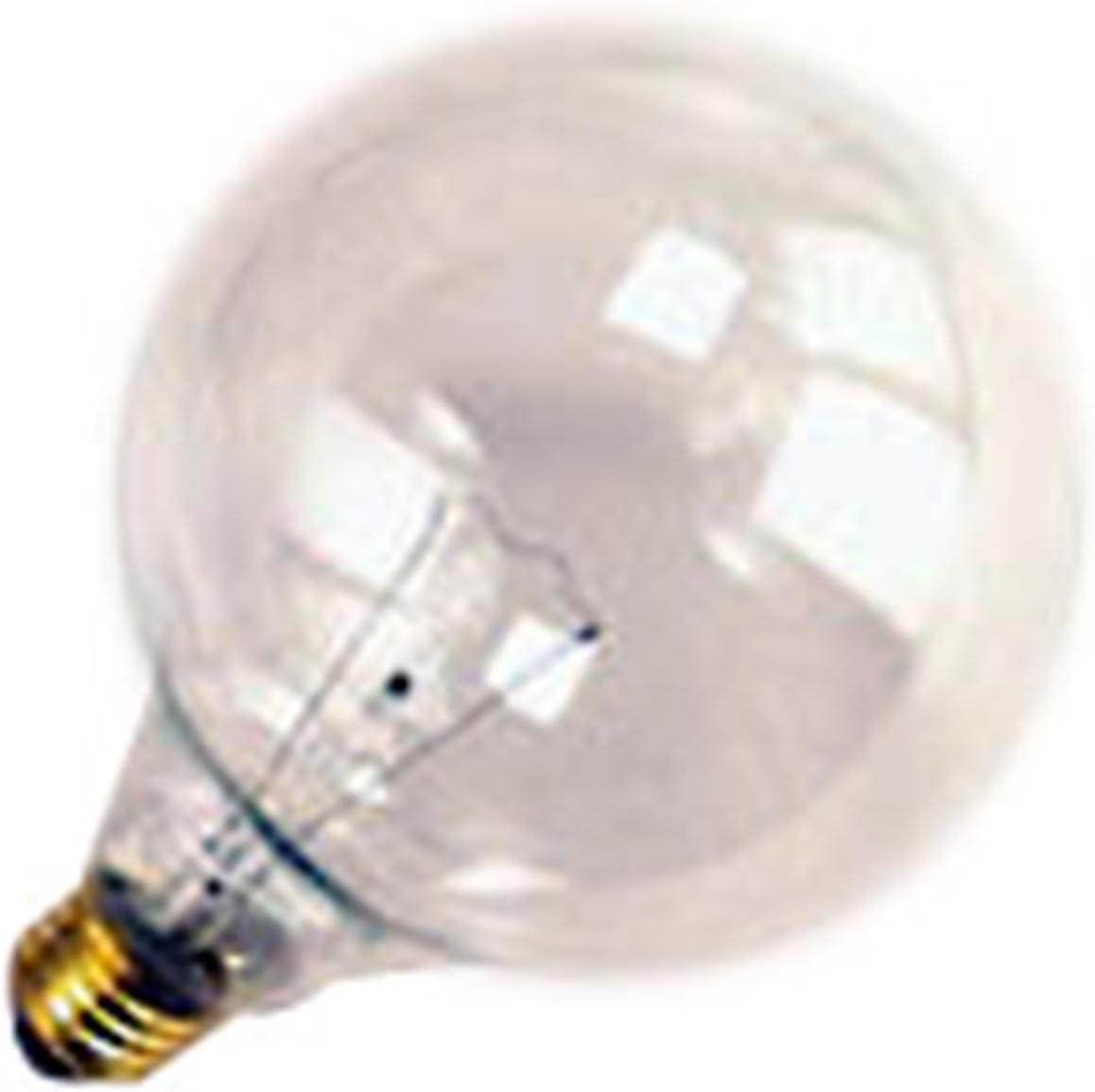 Halco 40W G40 CL Med 130V Halco G40CL40 40w 130v Incandescent Clear Lamp Bulb 12 Qty