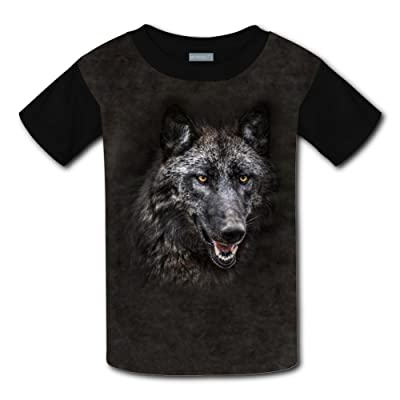 Mmm fight Portrait Of Wolf In Forest Light Weight Tee Shirts 2017 The Latest Version For Boysfree Postage