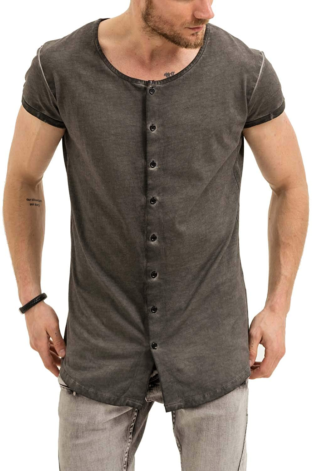 Trueprodigy Casual Mens Clothes Funny And Cool Designer Shirts Long