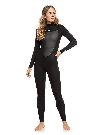 dcc74c3d81 Amazon.com : Roxy 2018 Womens Prologue 5/4/3mm Back Zip Wetsuit ...