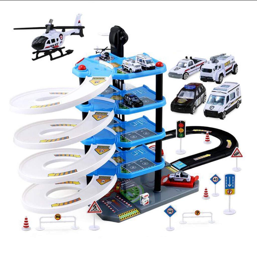 Parkgarage Play Set - Ihre Stadt Parkplatz - Fun Education Toy für Kinder 3+ - Parkhaus, das angehoben werden kann