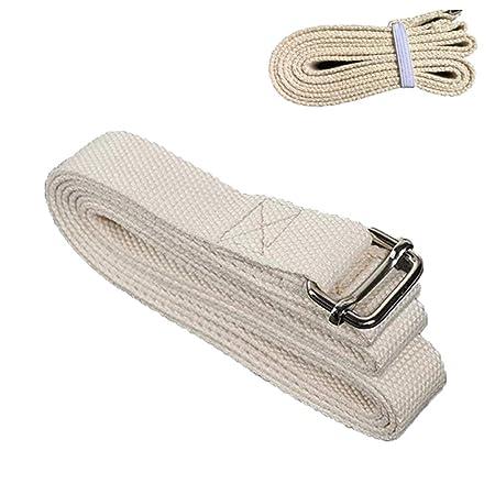 LB Correa De Yoga para Estirar Algodón Pilates Cinturón ...